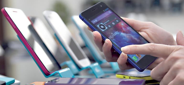 Redistribution des cartes en vue sur le marché des téléphones portables