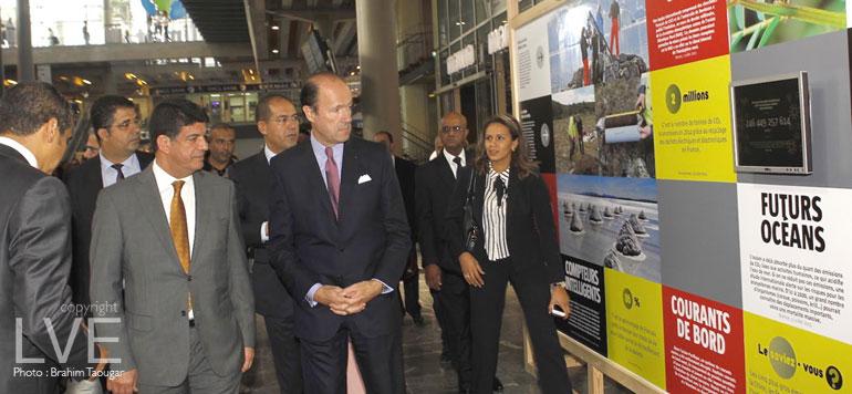 «Climat, l'expo à 360°» ouvre à Casa-Port