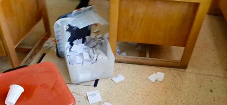 Législatives 2016 : Un individu casse une urne à Khénifra