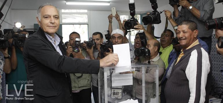 En images, les bureaux de vote «VIP» de Casablanca