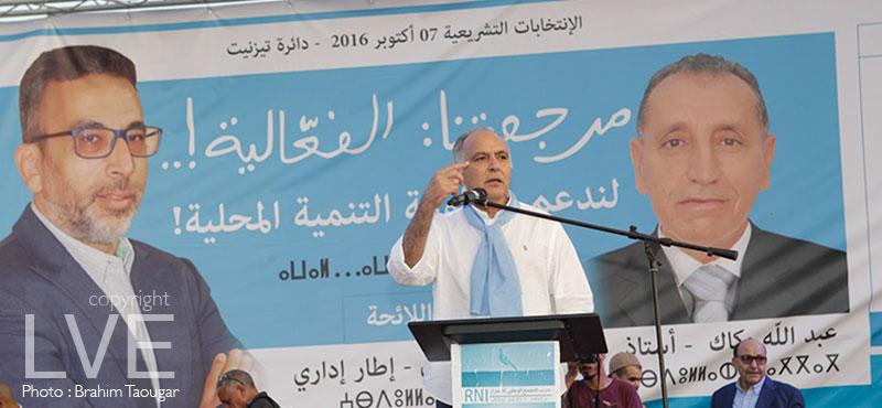 Législative : Près de 25 mille sympathisants présents lors du meeting du RNI à Tiznit