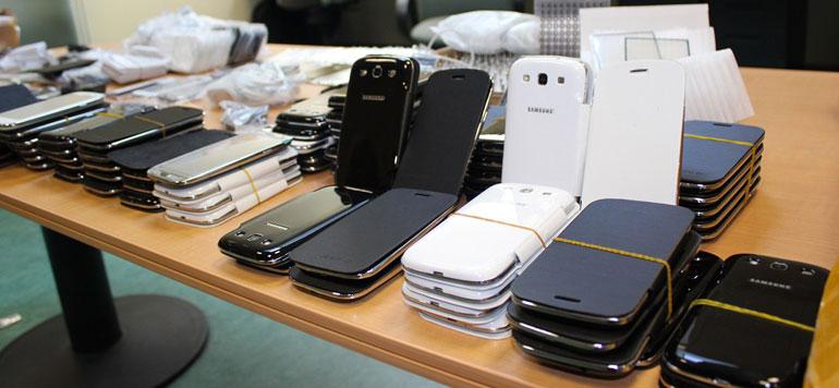 Agadir: Saisie de 631 téléphones portables de contrebande