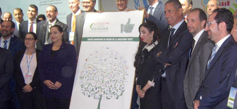 La charte marocaine en faveur de la logistique verte signée par 66 entités