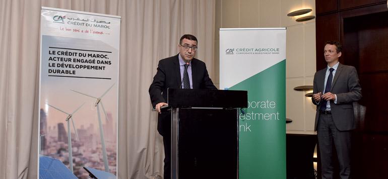 Crédit du Maroc débat des Green Bonds avec les institutionnels