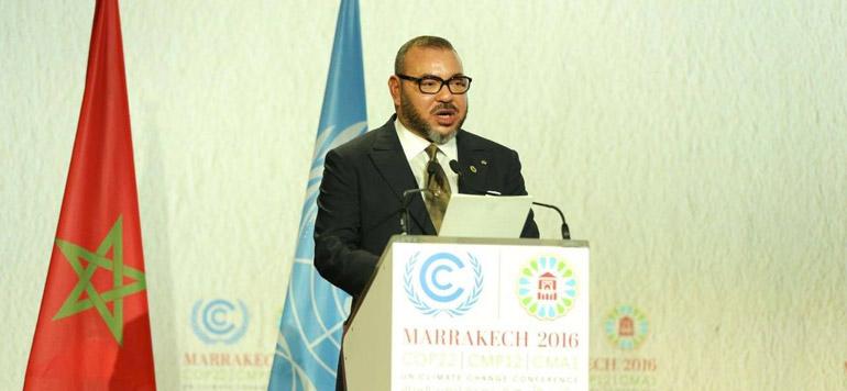 Vidéo : Le Discours adressé par SM le Roi lors de la Séance solennelle de Haut Niveau de la COP 22