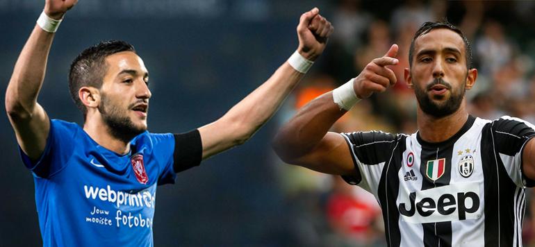Football : Benatia et Ziyech nominés pour le Lion d'Or 2016
