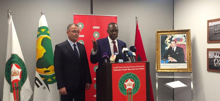 Pour Hayatou, le Maroc est apte à accueillir la Coupe du Monde de football