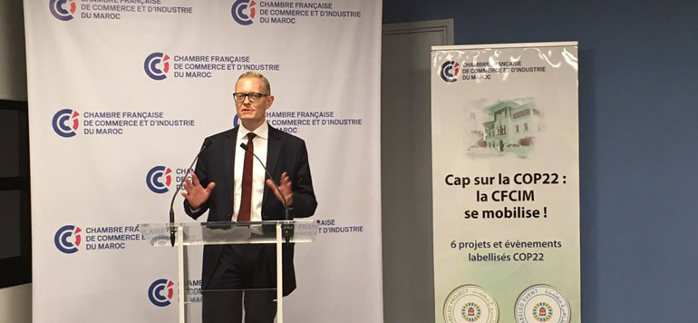 La CFCIM multiplie ses initiatives en faveur du climat
