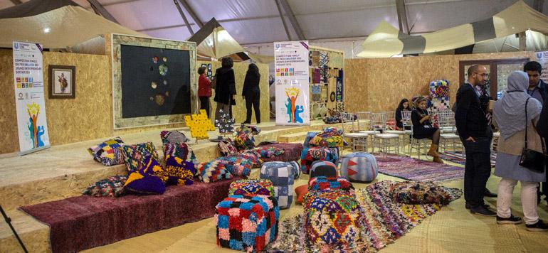 Le Maroc rayonne au village de la COP