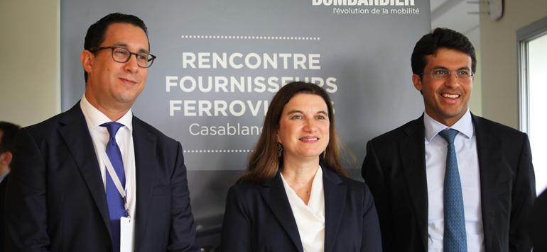 Le canadien Bombardier veut développer l'écosystème ferroviaire