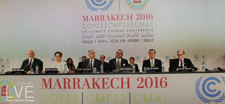 COP22 : SM le Roi a présidé la cérémonie d'ouverture du Sommet des Chefs d'Etat