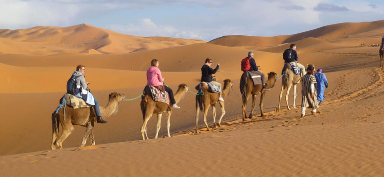 Tableau de bord du tourisme au Maroc à fin 2016