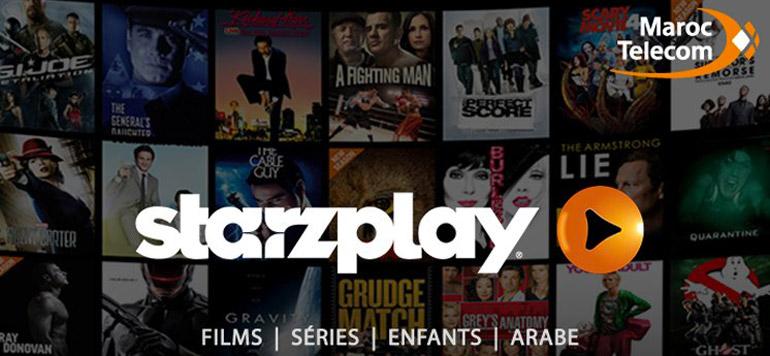 Itissalat introduit le service de vidéo à la demande de Starz Play