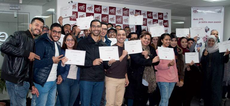 EFE Maroc et la Fondation Citi célèbrent leur coopération