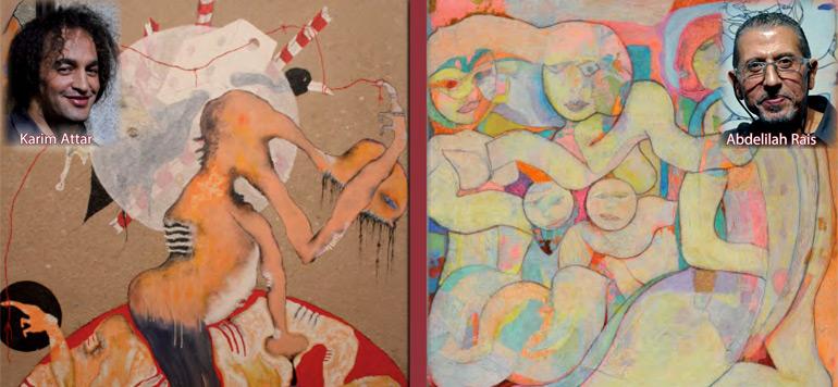 Karim Attar et Abdelilah Rais, artistes à paradoxes