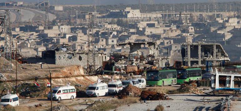 Syrie: évacuation d'un deuxième convoi d'habitants d'Alep