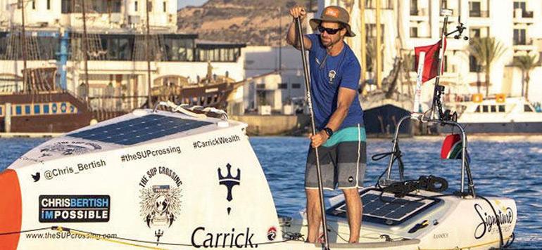 Une traversée en paddle d'Agadir
