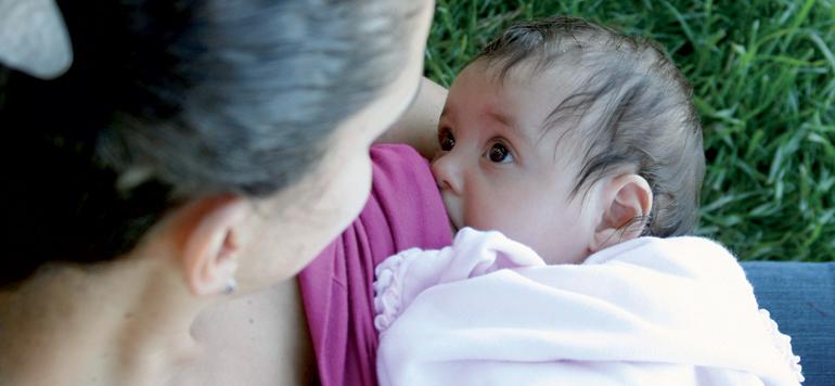 Seulement 27,8% des femmes pratiquent l'allaitement maternel