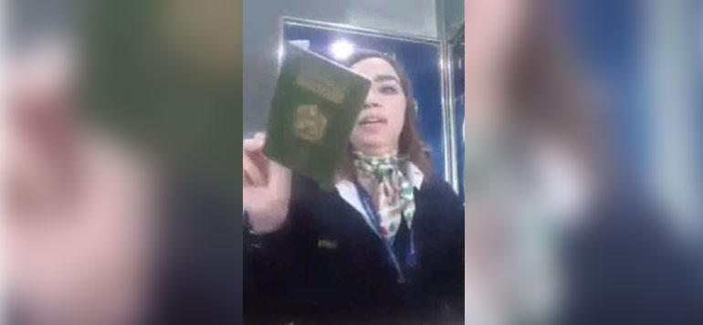 Vidéo : La leçon de patriotisme d'une employée des douanes à un sahraoui