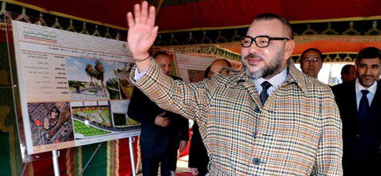 Vidéo : le Roi Mohammed VI lance les travaux de réaménagement de la corniche d'Ain Diab