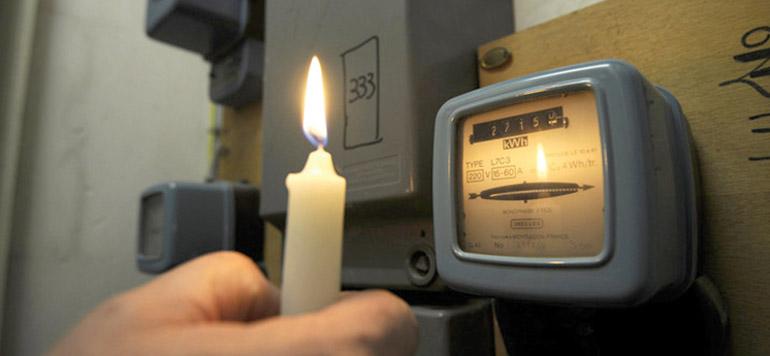 La consommation d'électricité accuse un fort ralentissement
