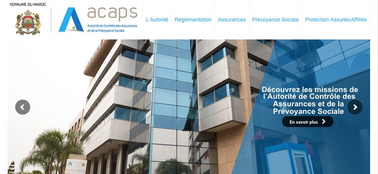 L'ACAPS doté d'un nouveau site web