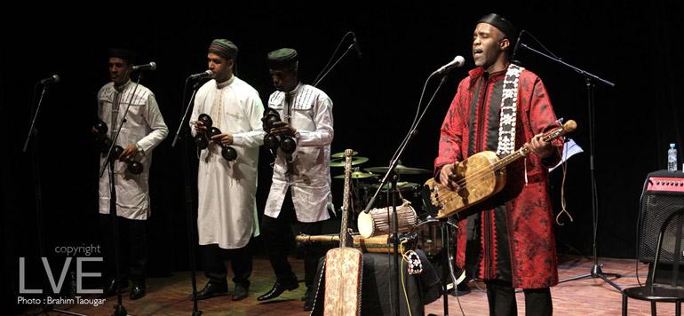 Concert : La musique Gnawa s'invite à Casablanca