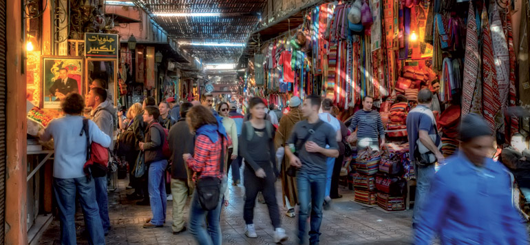 Une nouvelle vie pour la médina de Marrakech