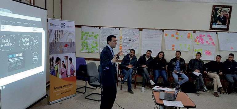 Microsoft Maroc et Silatech soutiennent l'employabilité des jeunes à travers l'initiative Ta3mal