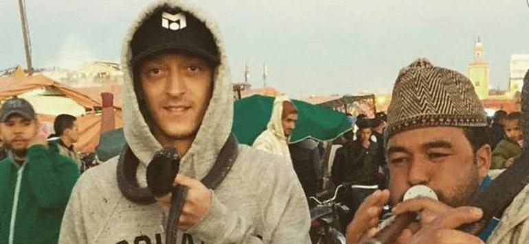 Özil à Jamaa Lefna