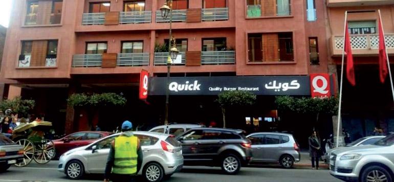 Quick s'installe à Marrakech