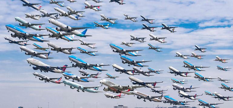 Trafic aérien mondial : trois passagers sur dix volent avec une low cost