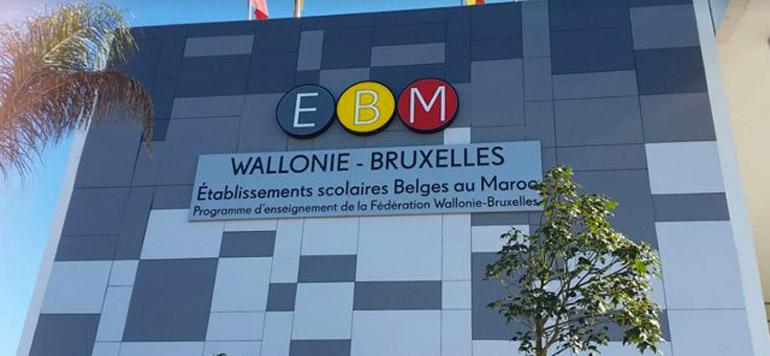 Une école belge à Rabat
