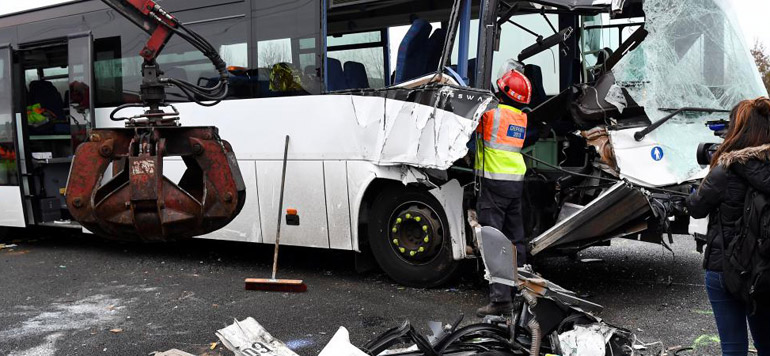 France : 65 blessés dans un carambolage dans une autoroute de la région parisienne