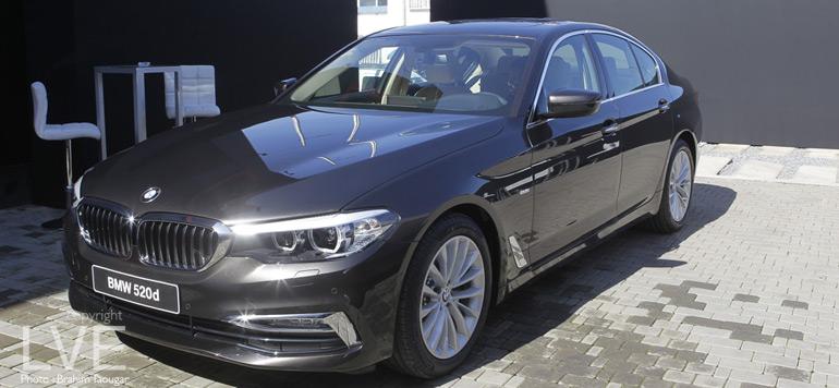 Nouvelle BMW Série 5 : un concentré de technologies dans un écrin de luxe