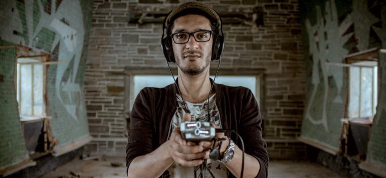 Abdallah Hassak, chasseur de sons