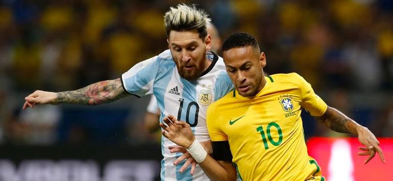 Football: Match amical entre l'Argentine et le Brésil en Australie