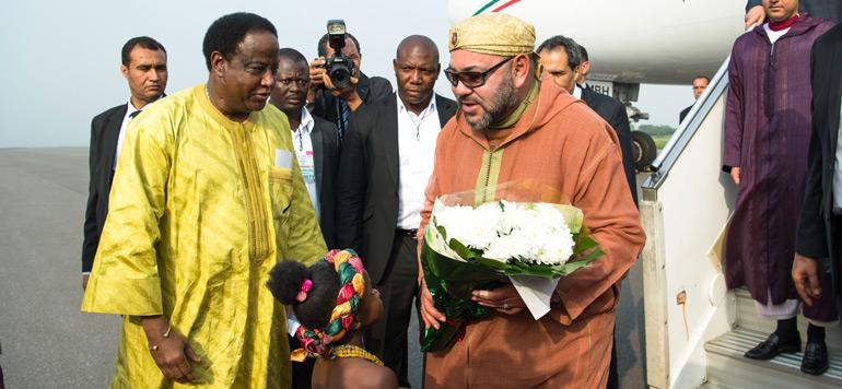 Arrivée de SM le Roi à Accra pour une visite officielle en République du Ghana