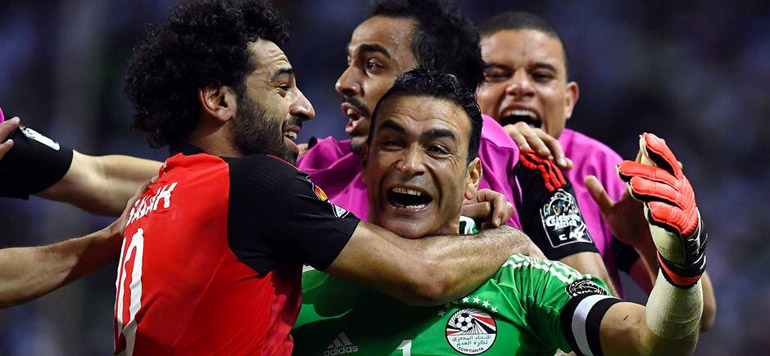 CAN 2017: L'Egypte en finale