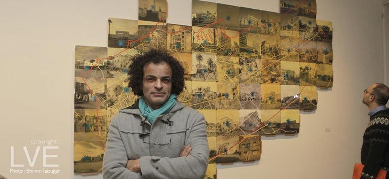 Exposition : Mohamed Fariji fleurit Casablanca