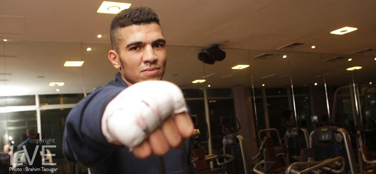 Mohamed Rabii : «c'est une fierté de disputer mon premier combat pro à Casablanca»