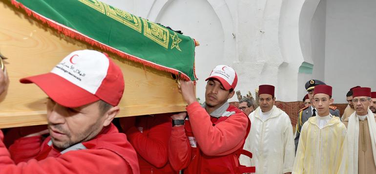 Marrakech : les Obsèques de Feu M'hamed Boucetta