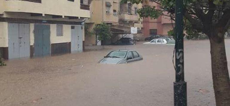 Inondations à Rabat : une ville sous l'eau