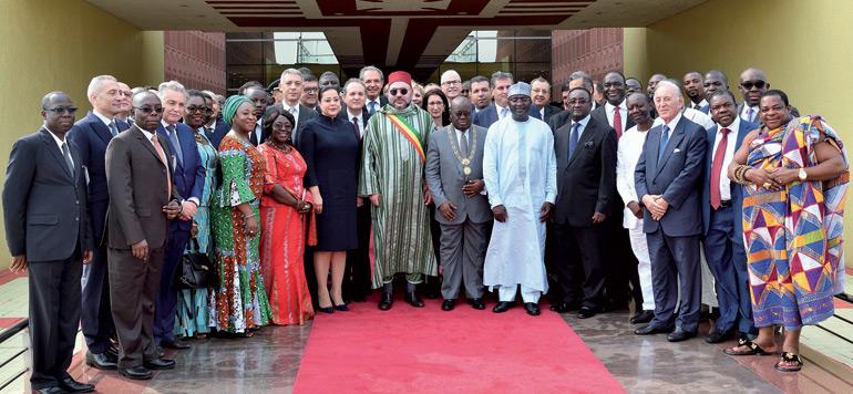 Tournée royale : le Maroc tisse sereinement sa toile en Afrique
