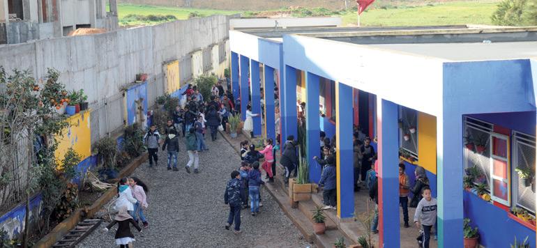 Enfance Maghreb Avenir s'active pour lutter contre l'abandon scolaire