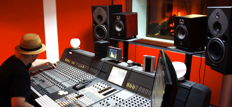 Le business des studios d'enregistrement en plein développement
