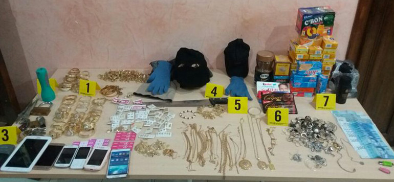 Tétouan : Arrestation de 5 individus impliqués dans le vol de deux bijouteries
