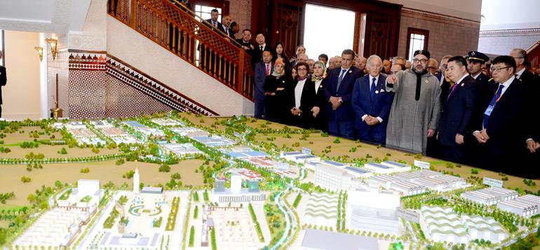 Le Roi préside la présentation du projet de création de la ville nouvelle «Cité Mohammed VI Tanger Tech»