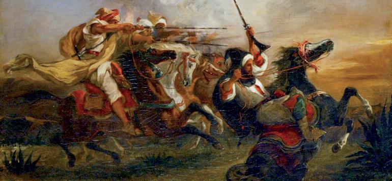 Delacroix retourne au Maroc !