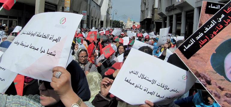 Droits des femmes : les associations sont déçues mais ne baissent pas les bras